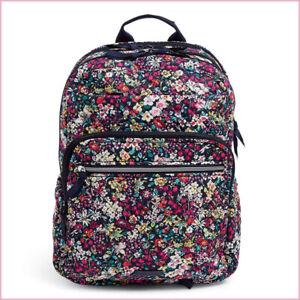 VERA BRADLEY XL Campus Backpack ❁ ITSY DITSY ❁ Organization & Style NWT $130