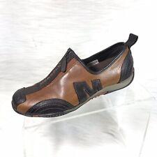 Merrell Barrado Women's Shoes Brown Leather Zip Up Size 5.5