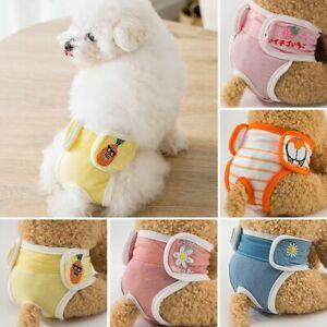 Washable Dog Diaper Pant Cartoon Diaper Physiological Pant Pet Diaper Pant*