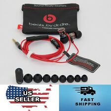 USA Seller Monster by Dr Dre iBeats In Ear Headphones Earphones Headset - BLACK