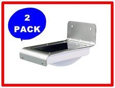 2Pack 16 LED Solar Power Motion Sensor Light Wall Garden Lamp outdoor wateproof