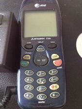 VINTAGE MITSUBSHI T250 Cellular Phone w/AC Charger