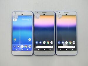 Lot of 3 Google Pixel XL 2PW2100 Unlocked Check IMEI Poor Condition 6-405