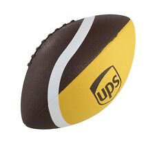 Ups United Parcel Service Brown Gold White Official Size Rubber Custom Football