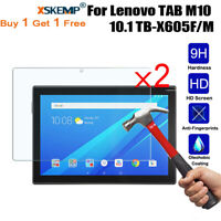 2x Tempered Glass Film Screen Protector Guard For Lenovo TAB M10 10.1 TB-X605F/M
