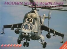 Concord Publications Modern Soviet Warplanes Strike Aircraft Attack Helicopters