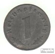 Deutsches Reich Jägernr: 369 1943 F vorzüglich Zink 1943 1 Reichspfennig Reichsa