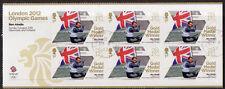 GREAT BRITAIN LONDON 2012 BEN AINSLIE - SAILING, MINIATURE SHEET F.USED OLYMPICS