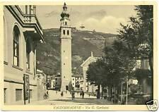 VALDOBBIADENE - VIA G. GARIBALDI (TREVISO) 1955