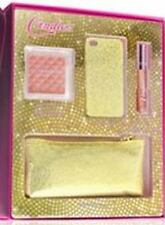 Candies Glitter Makeup Wristlet iPhone 4 4s Case Set Gold or Pink $40 Gift Box