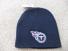 Tennessee Titans Navy Blue Officially Licensed NFL Beanie Hat-BNWT's