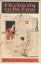 Electricity on the Farm Magazine - June 1931 Issue - Rural Technology