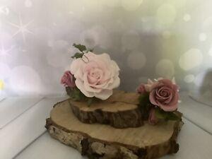 2 Piece Pink Cake Decoration Wedding/Celebration Cake Topper