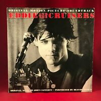 JOHN CAFFERTY Eddie And The Cruisers 1983 Vinyl LP EXCELLENT SOUNDTRACK OST Film