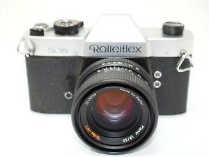 Rolleiflex SL35 SLR Camera + 50mm f1.8 Planar Lens