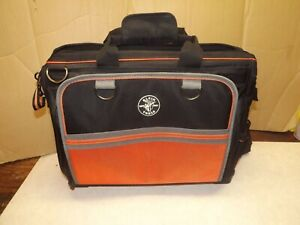 Klein Tools Tradesman Pro Extreme Electricians Bag 78 Pockets 55463 Preowned
