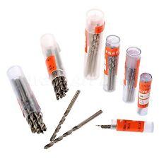 10Pcs Micro Drill HSS Bits 0.5mm-3.5mm Straight Shank PCB Twist Drill Bits Set