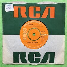 Baccara - Sorry I'm A Lady / Love You Till I Die - RCA PB5555 Ex Condition A1/B1
