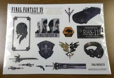 Square Enix Final Fantasy XV 15 Sticker Japan official shop orignal limitted F/S