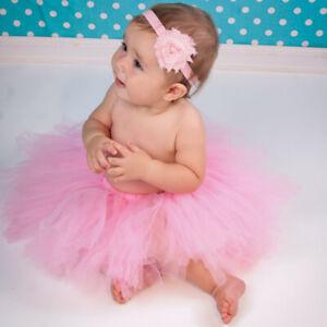 Newborn Baby Girl Tulle Tutu Skirt Dress Photography Props Studio Photo Shoot
