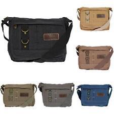 Damen Tasche Canvas Umhängetasche Schultertasche Crossover Bag Damenhandtasche