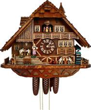 Cuckoo Clock 8-day-movement Chalet-Style 52cm by Anton Schneider