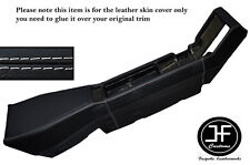 WHITE STITCHING CENTER CONSOLE LEATHER SKIN COVER FITS RENAULT ALPINE GTA V6