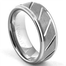 8b0e2c17e9 Tungsten Love & Hearts Rings for Men for sale | eBay