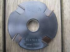 HM Wendeplatten Kanten Füge Messerkopf 70 x 10 x 16 mm Z 4 von Leuco