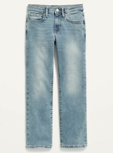 Old Navy Boys Built-In-Flex Straight Light Wash Jeans Size 8 or 14 Plus