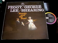 PEGGY LEE/GEORGE SHEARING/BEAUTY AND THE BEAST/VOCAL JAZZ/CAPITOL T 1219 UK LP