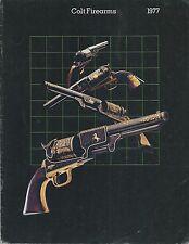 Catalogo Brochure Colt Firearms  1977 - Caccia Tiro Difesa Magnum Cobra Python