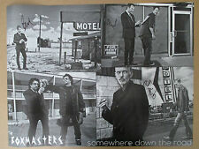 BILLY BOB THORNTON BOXMASTERS BAND SIGNED POSTER PROOF 19x25 DOWN THE ROAD