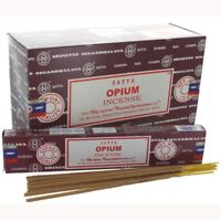ORIGINAL SATYA OPIUM GENUINE pack of 6 x 15 grams = 90 gms OF INCENSE STICKS