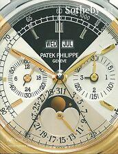 SOTHEBY'S LONDON WATCH Cartier Franck Muller Omega Patek Rolex Catalog 2016