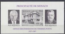 MONACO - BLOC NON DENTELE N° 39a - NEUF SANS CHARNIERE