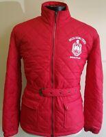 Delta Sigma Theta  Sorority Line Jacket 1913 Fortitude Red Crossing Line Jacket