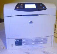 HP LaserJet 4250dtn Workgroup Laser Printer, TESTED, WORKS