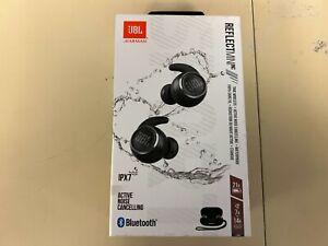 JBL Reflect Mini True Wireless NC Sport Headphones Black New