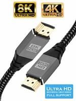 8K IBRA v2.1 HDMI Cable High-Speed 48Gbps Lead | Supports 8K@60HZ 0.75M-3M