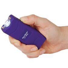 Lil Guy 12 Million Volt Stun Gun LED Flashlight Purple Self Defense Camping Hike