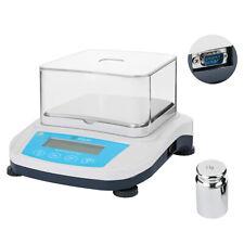 U.S. Solid Analytical Balance 2000 x 0.01 g 10 mg Lab Digital Precision Scale