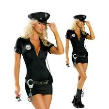 UK Sexy Police Women Officer Cop Role Play Uniform Fancy Costume Complete Outfit