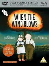 When The Wind Blows Dual Blu-ray DVD UK R2 Raymond Briggs