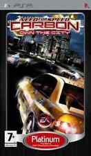 NEED FOR SPEED CARBON OWN THE CITY PSP sony playstation italiano platinum