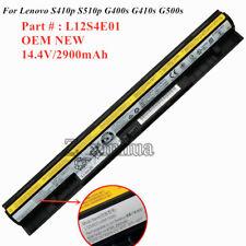 OEM NEW Battery L12S4E01 For Lenovo G400s G405s G410s G500s G510s Z710 Z40 Z50