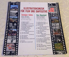 "ILLUSTRATIONSMUSIK FÜR FILM UND DIAPOSITIVE (LP) ""ILLUSTRATIVE MUSIC FOR MOVIES"""