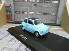 FIAT 500L 500 L blau blue MKI 1965 NEU Minichamps Maxichamps 1:43
