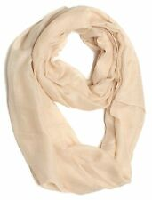 Light Weight Infinity Scarf For Women with Solid Colors