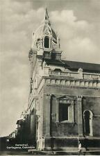 1920s COLOMBIA rppc CARTAGENA CATHEDRAL S.A.